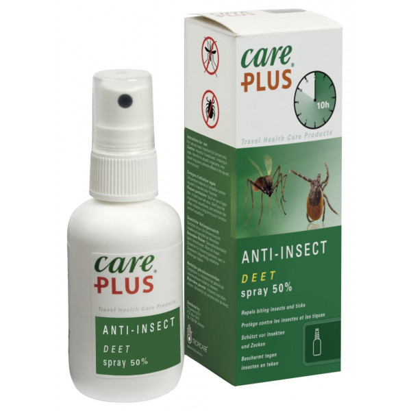 Care Plus Anti-Insect Deet Spray 50 % 1